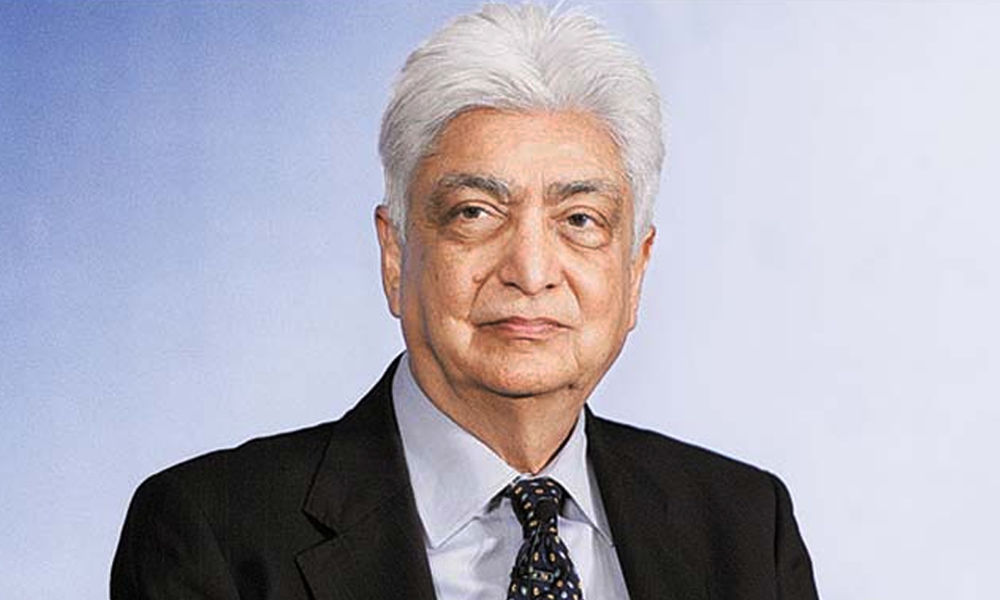 Azim Premji portrait image