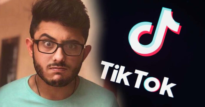 Carry Minati Roasted A TikToker And Made It A YouTube Vs TikTok ...