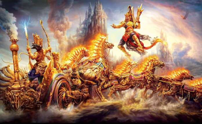 karna and arjun battle to be the best