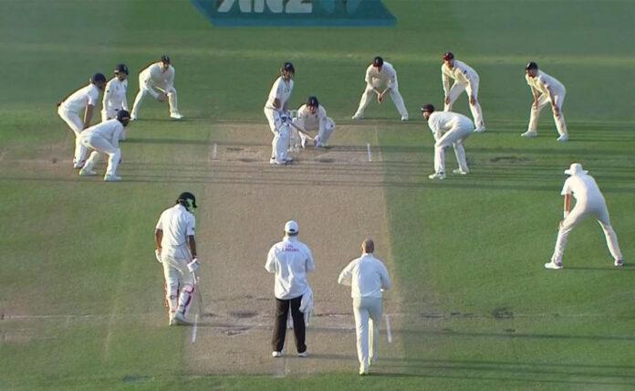 test match fielding in cricket