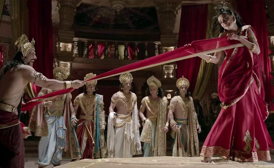 draupadi vastraharan in mahabharat