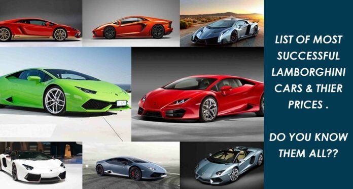 Lamborghini Cars and Their Prices in India