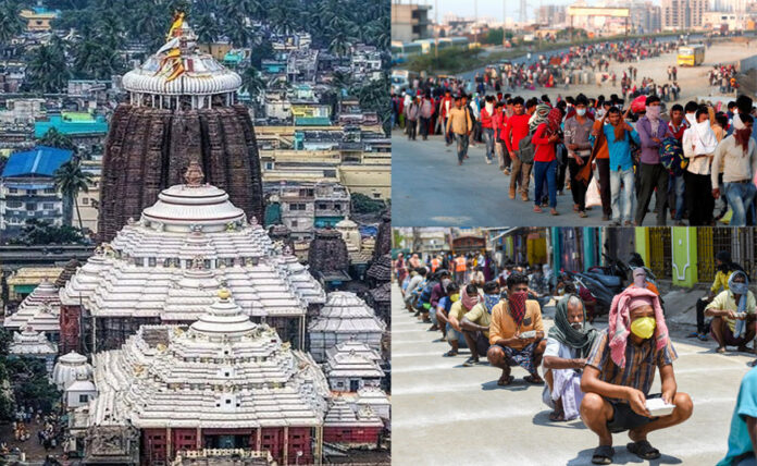 all temples and trust donating to fight coronavirus