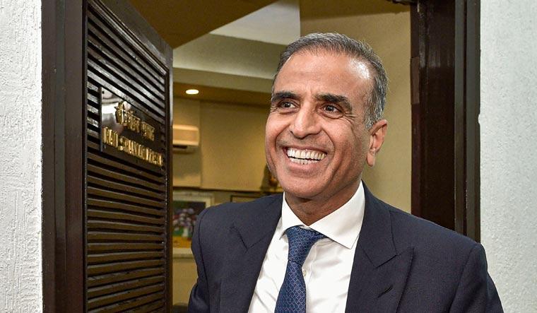Sunil Mittal smiling