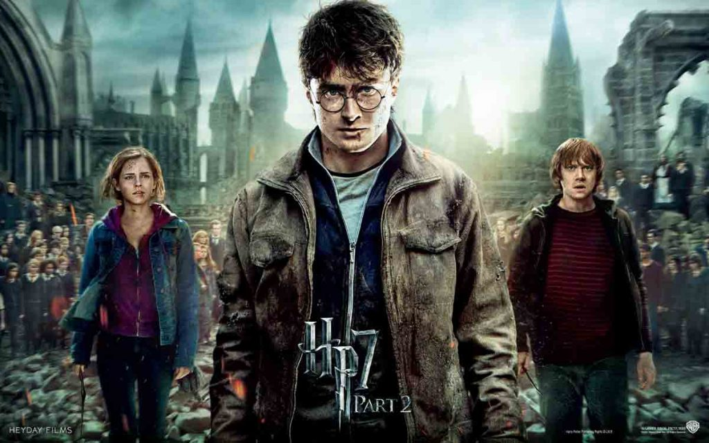 Harry Potter Deathly Hallows Part 2 cover image