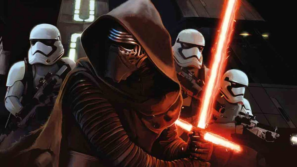 characters from Star Wars The Force Awakens