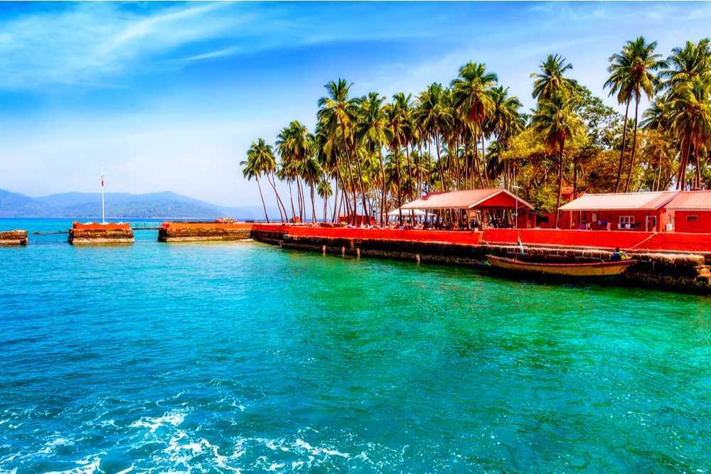 beautiful beach at Andaman and Nicobar Islands