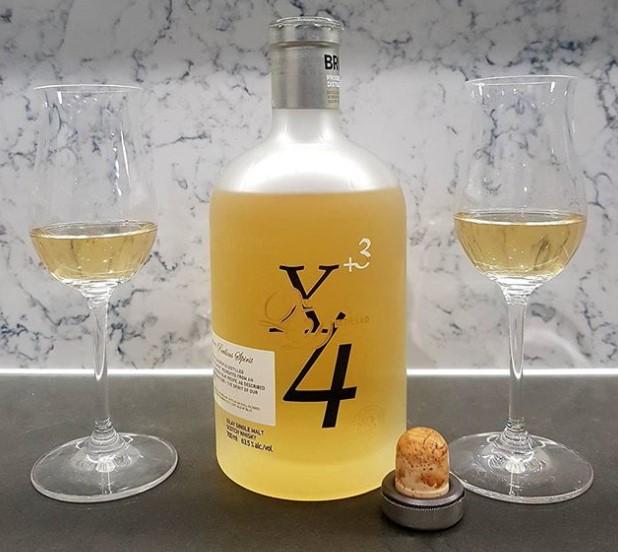 Bruichladdich X4 Quadrupled Whiskey with 92% ABV