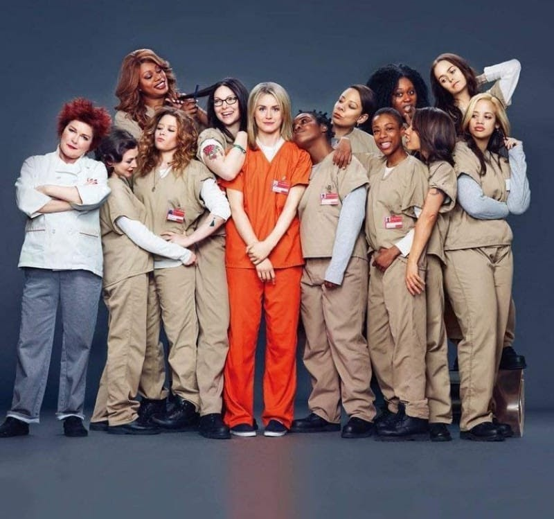 orange is the new black characters together