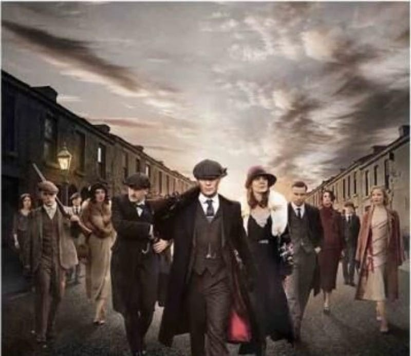 scene from peaky blinders
