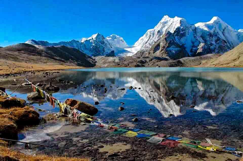 beautiful lake at Sikkim