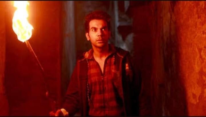 rajkumar holding masal in stree movie