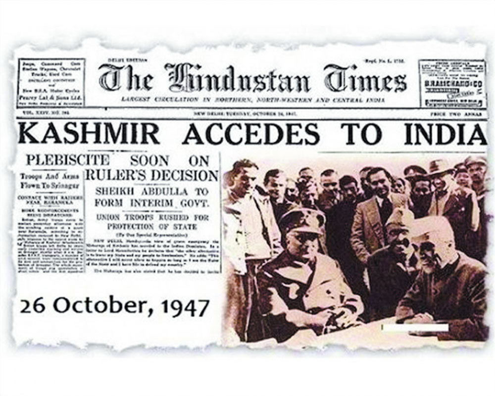 kashmir signs for accession with india