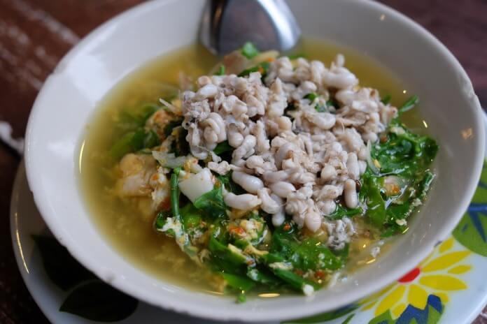 white ant egg soup