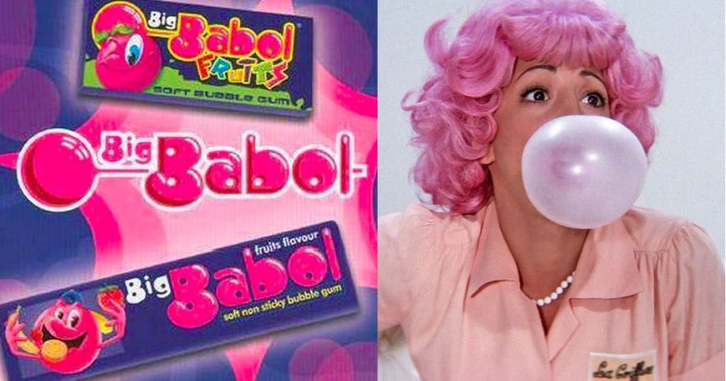 big babol and boomer ads from childhood memories