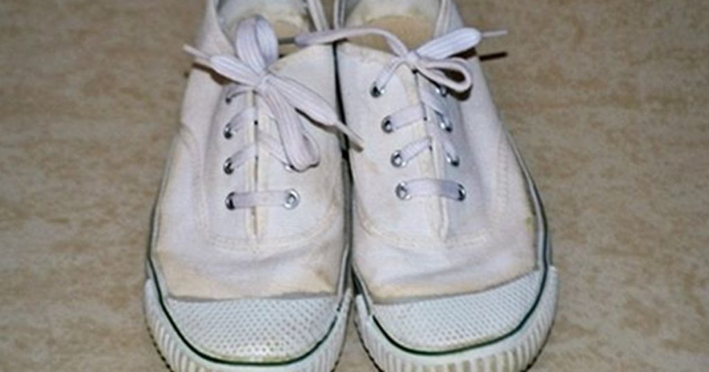classic old white bata shoes for school