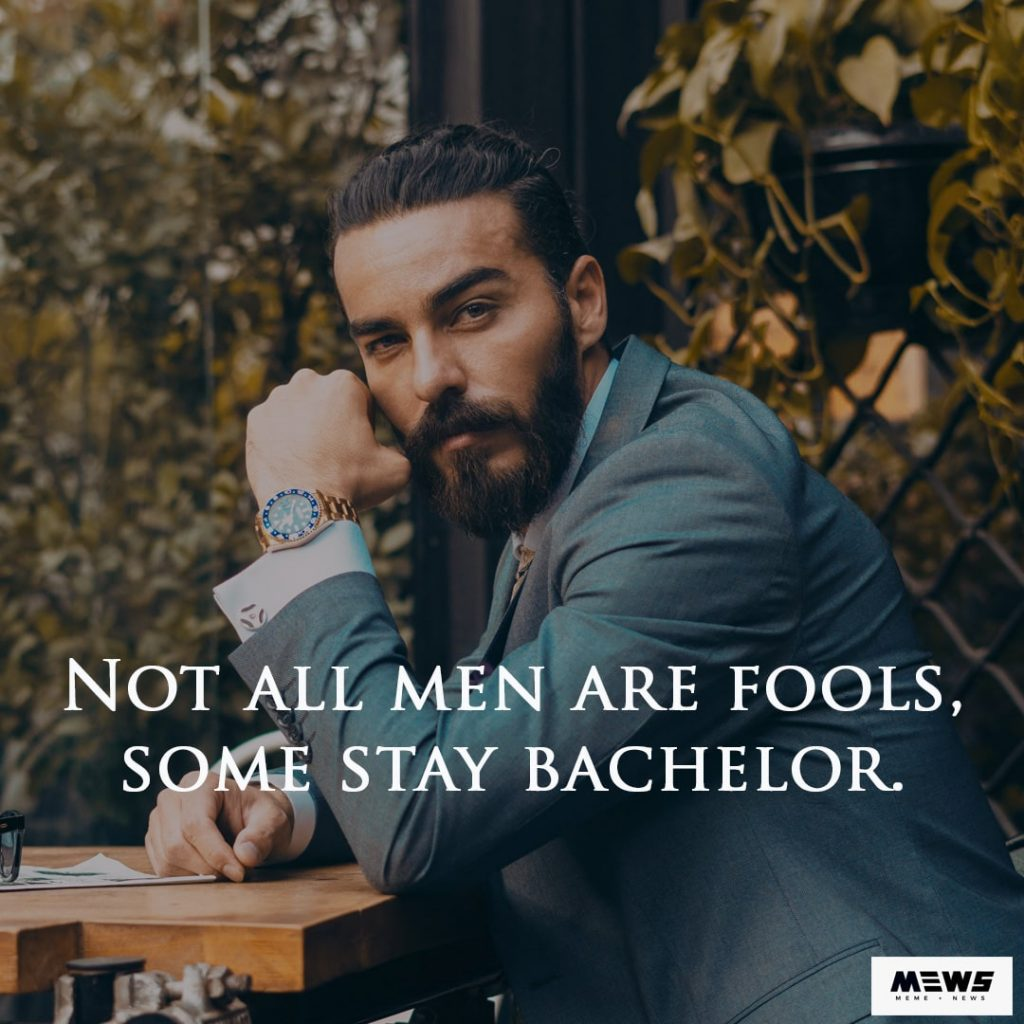 attitude quote - not all men are fool