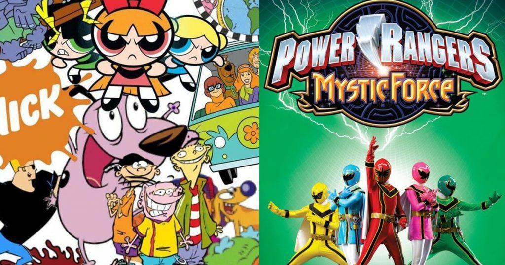childhood cartoon shows from cartoon network