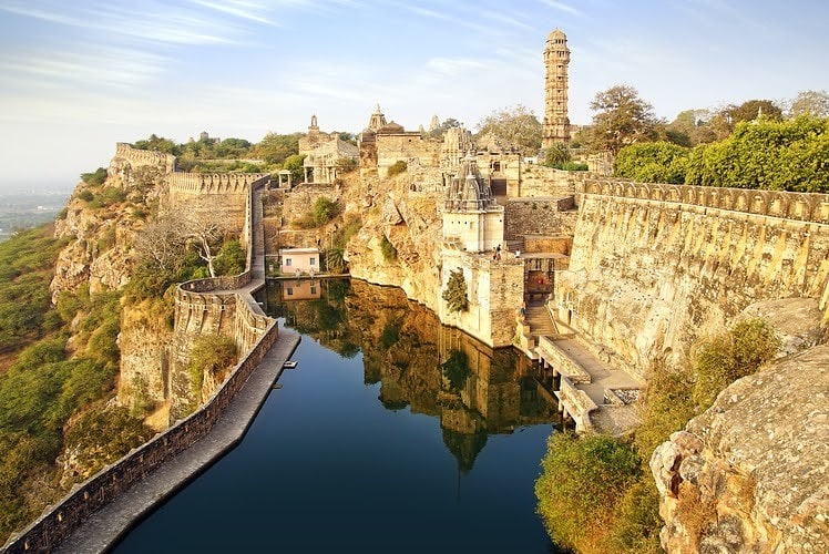 chittor fort in india
