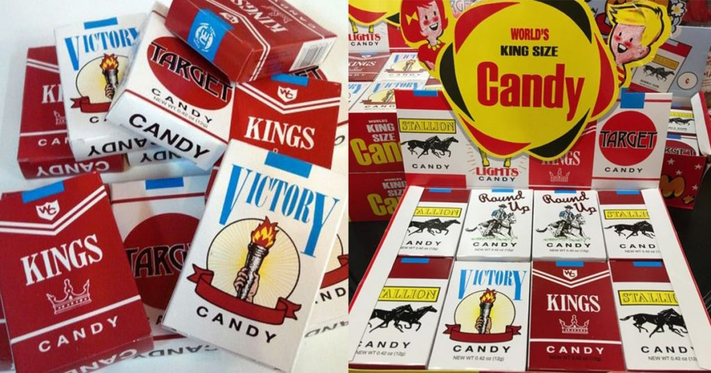 candy cigarettes by kings from childhood