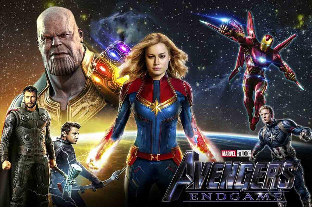 poster of highest grossing movie ever - Avengers Endgame