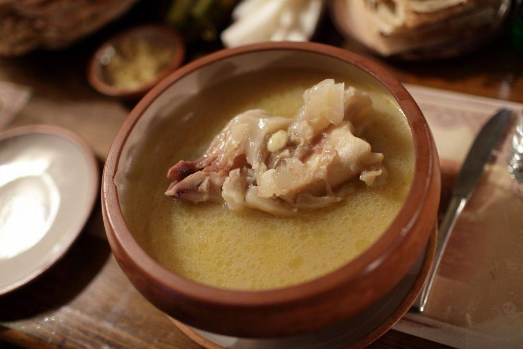 khash a dish made of cow feet