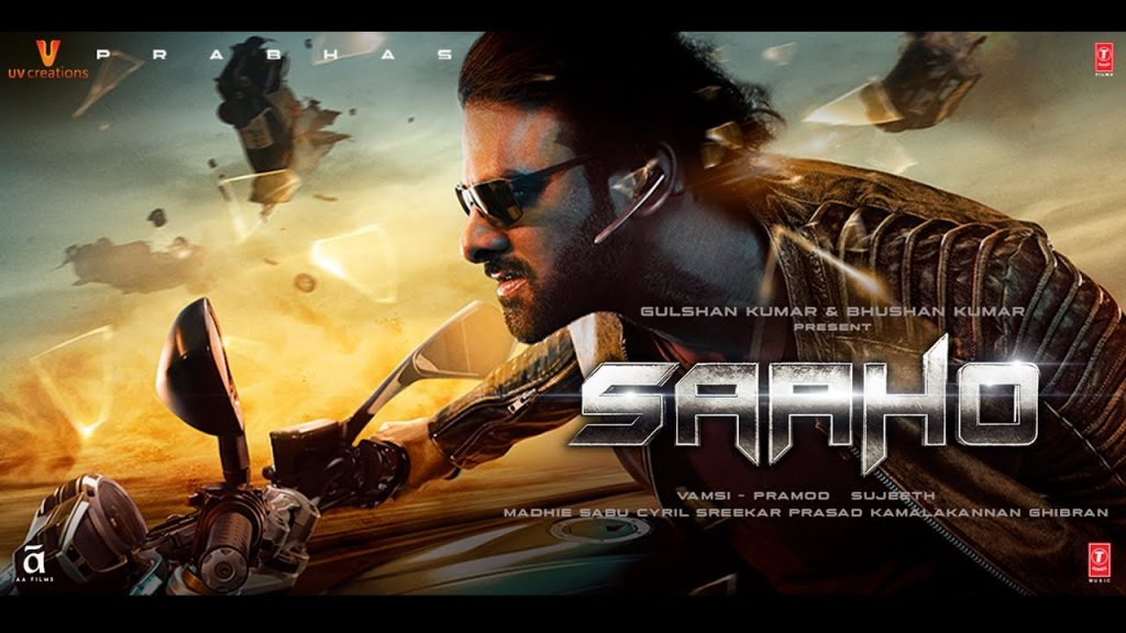 saaho movie poster, highest grossing bollywood movie