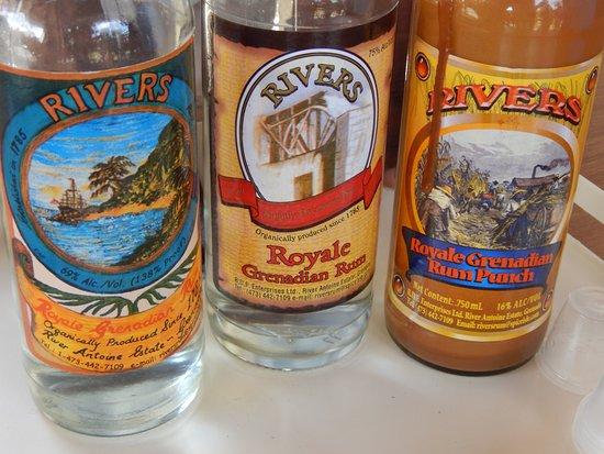 River Antoine Royale Grenadian Rum with 90% ABV