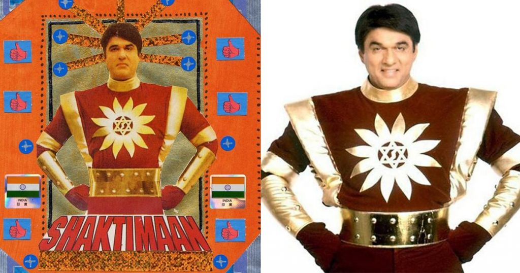 shaktiman in his costume cover image