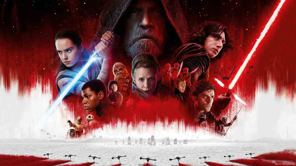 cover image of high grossing movie Star Wars The Last Jedi