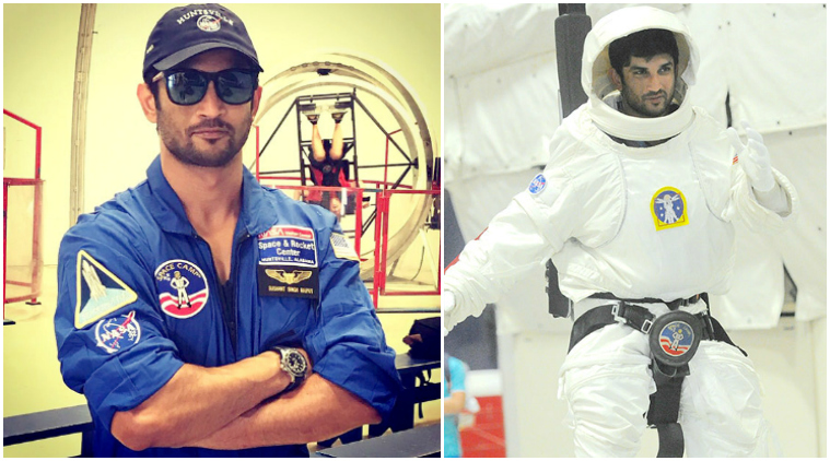 sushant singh rajput as astronaut for movie