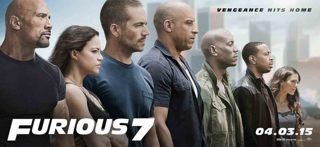 all characters from the movie Furious 7