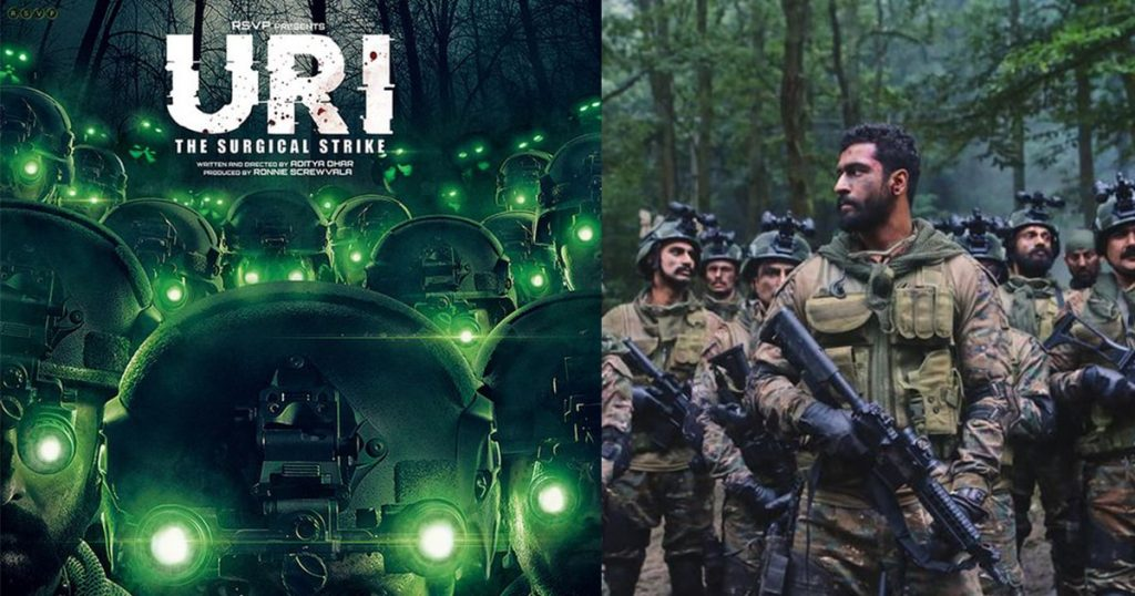vicky kaushal in uri poster
