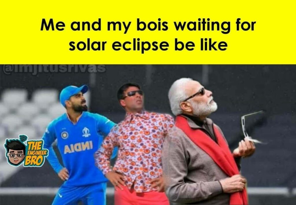 Hera Pheri meme of akshay kumar standing with modiji