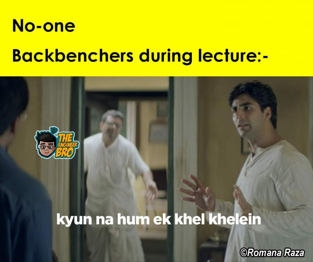kyun na hum ek khel khelein meme by from Hera Pheri featuring akshay kumar