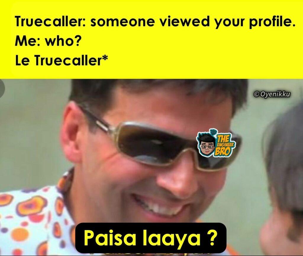 paisa laya meme based on Hera Pheri