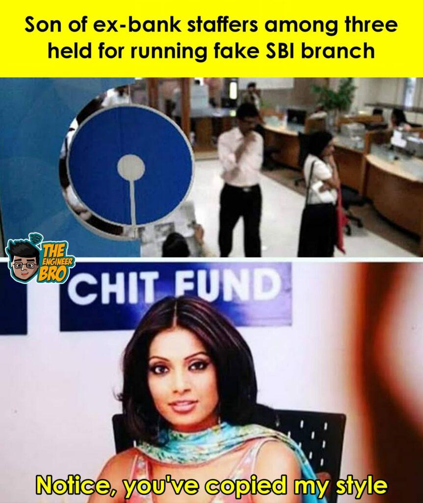 Hera Pheri style fraud style copied meme