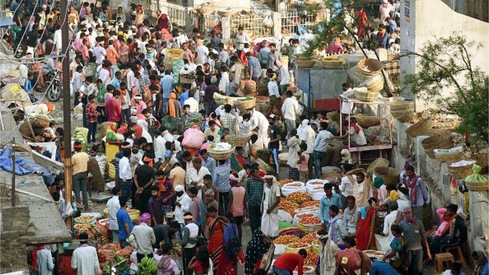 markets amid lockdown