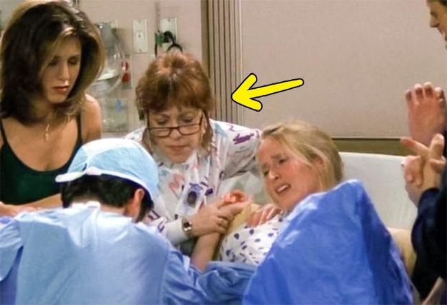 estelle as a nurse in friends show