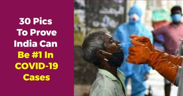pics to show why coronavirus cases in india are increasing