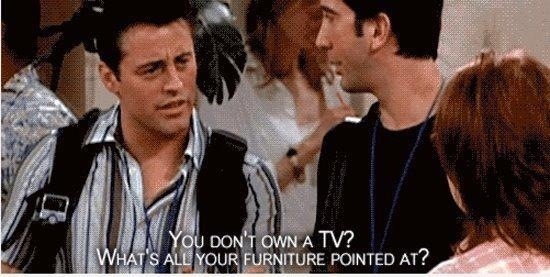 what's your tv pointed at dialogue by joey