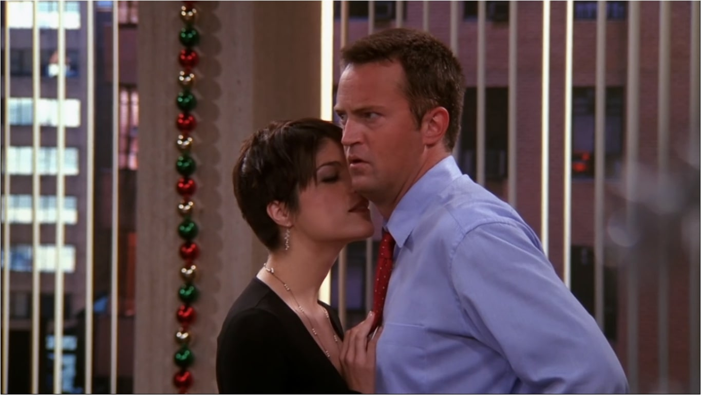chandler with her assistant who was below her
