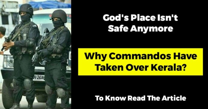 commandos in kerala to stop coronavirus