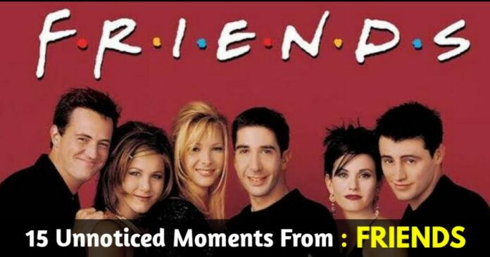 friends moments we didn't notice
