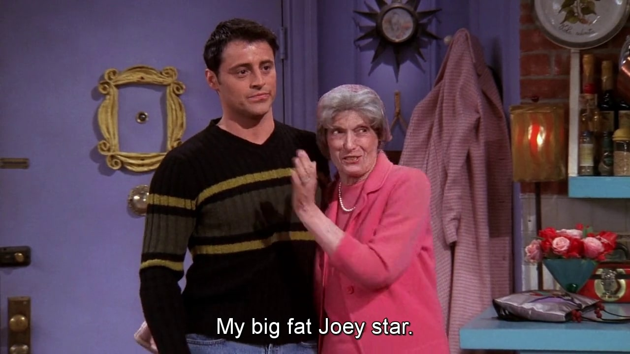 phoebe with his grandma