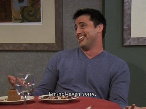joey tribbiani not the best person