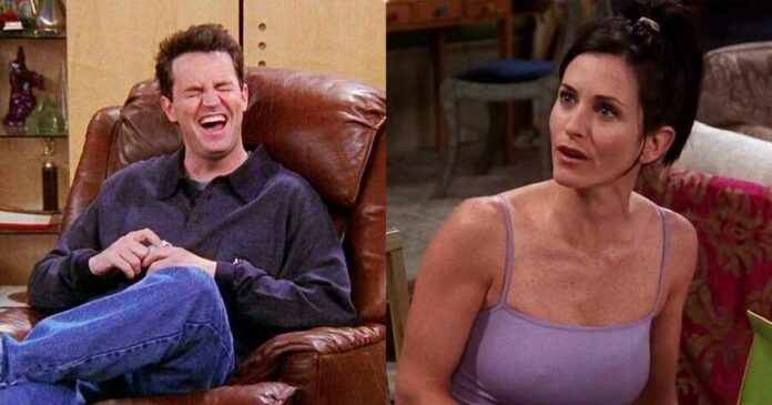 monica and chandler from friends where they missed errors