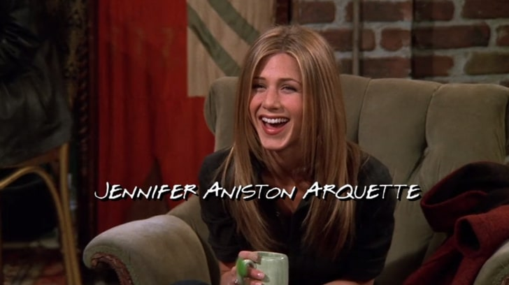 every character's names were changed in friends series