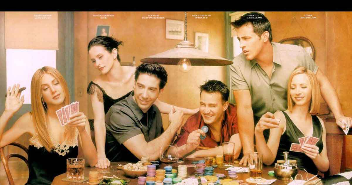 friends cast playing in the quarantine