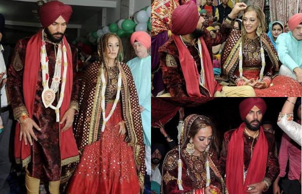 yuvraj singh and hazel marriage images